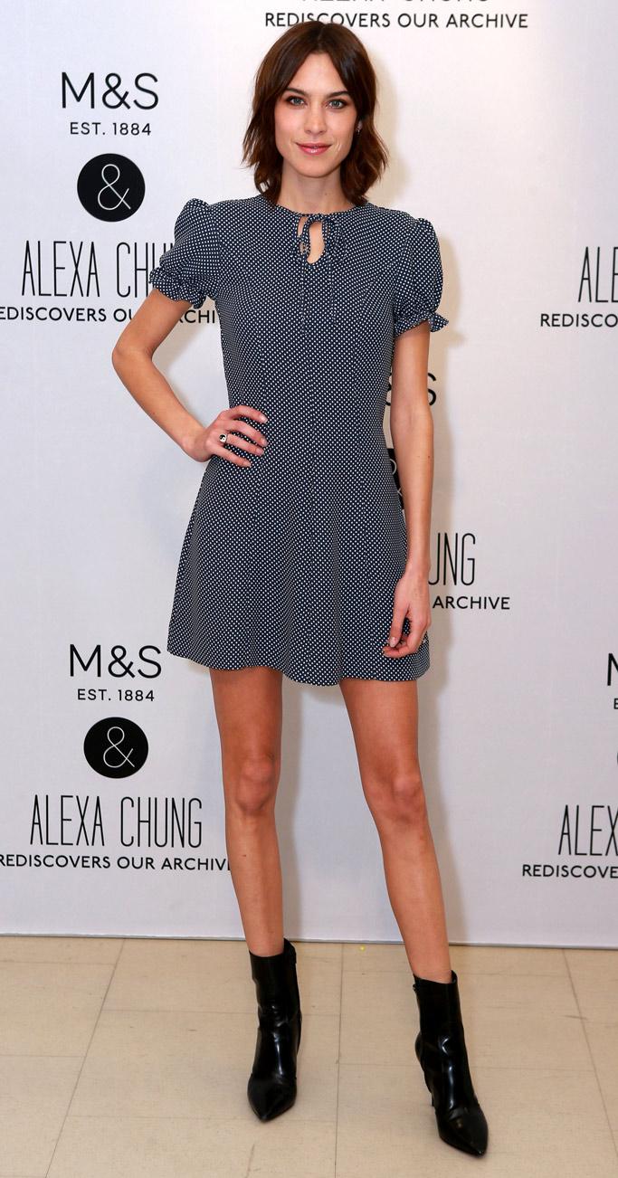 Alexa Chung Marks And Spencer