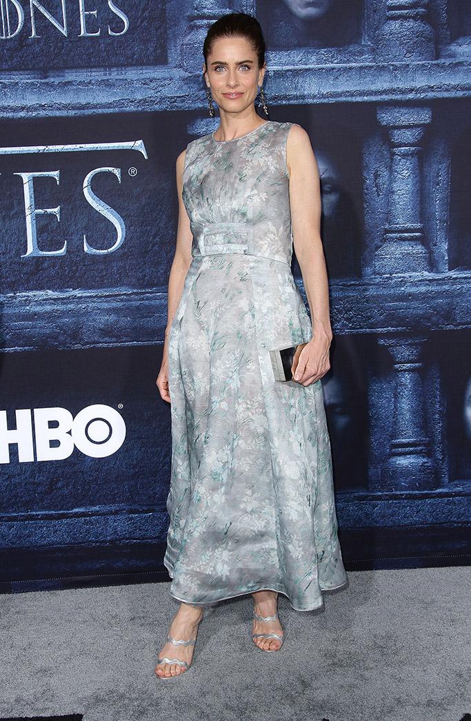 Amanda Peet Games of Thrones Season 6 Premiere