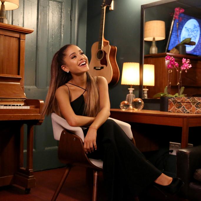 Ariana Grande Tonight Show Shoes