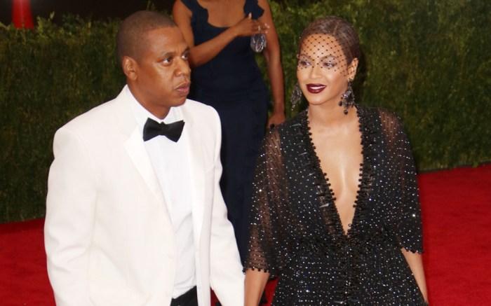 Beyonce & Jay-Z at the 2014 Met Gala