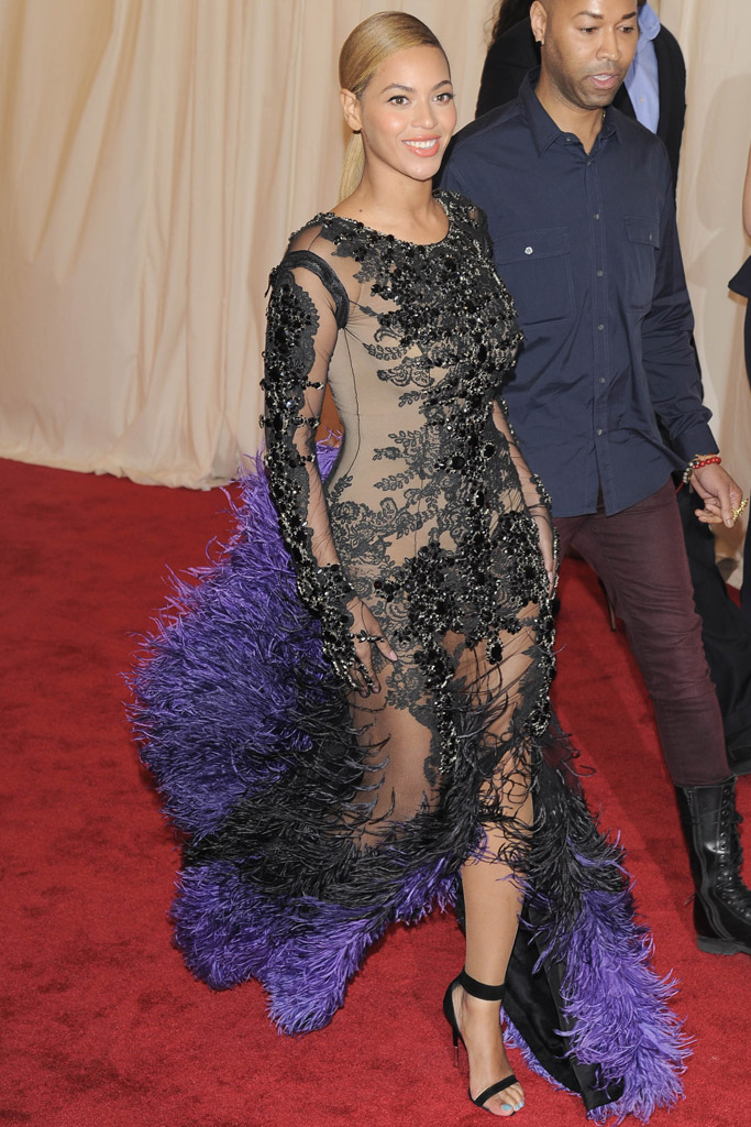 Beyonce Met Gala Shoes