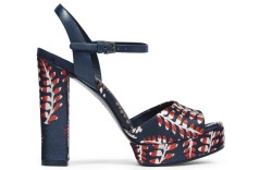 Bold Printed Shoes