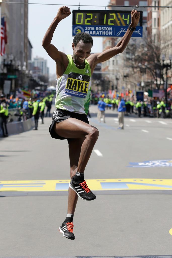 Boston Marathon 2016 Mens Winner Adidas