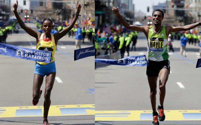 Boston Marathon Winners 2016