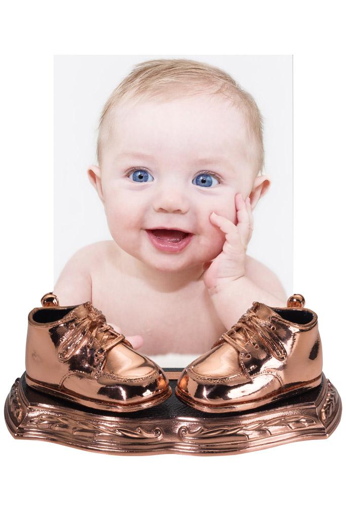 bronze baby shoes american bronzing company