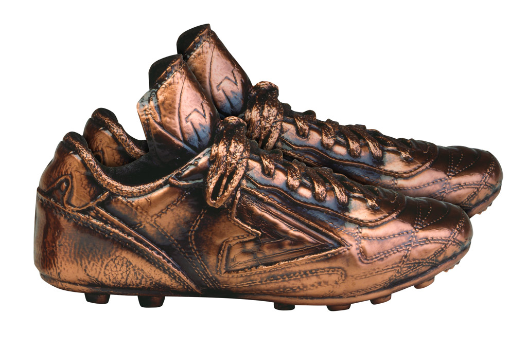 cleats american bronzing company copper shoes baby