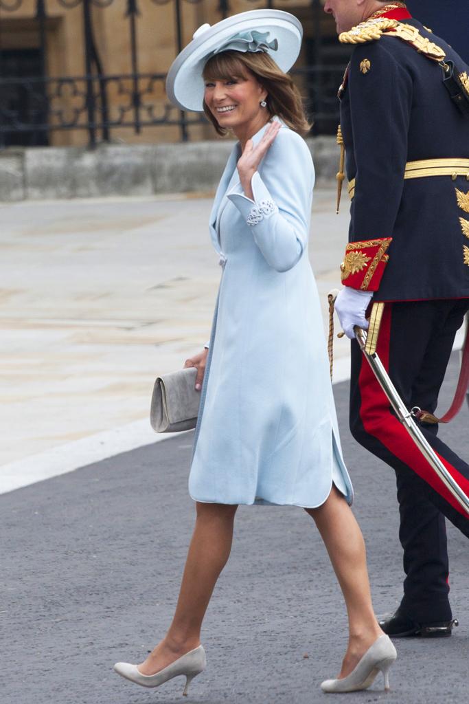 Carole Middleton Royal Wedding Shoes