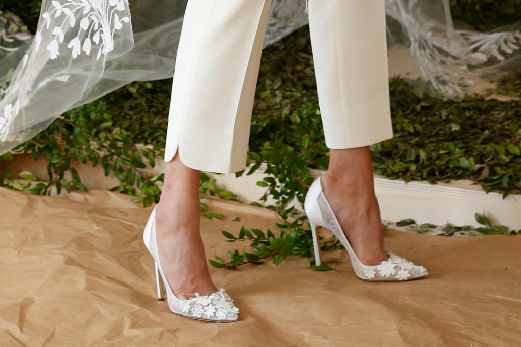Bridal Fashion Week Spring 2017: Runway Shoes