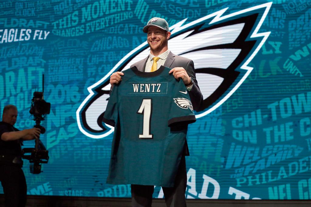 Carson Wentz 2016 NFL Draft Nike