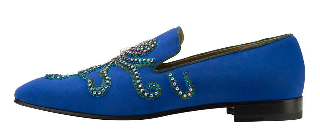 christian louboutin octopus loafer