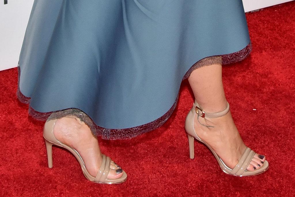 christina applegate nude sandal heels footwear family fang