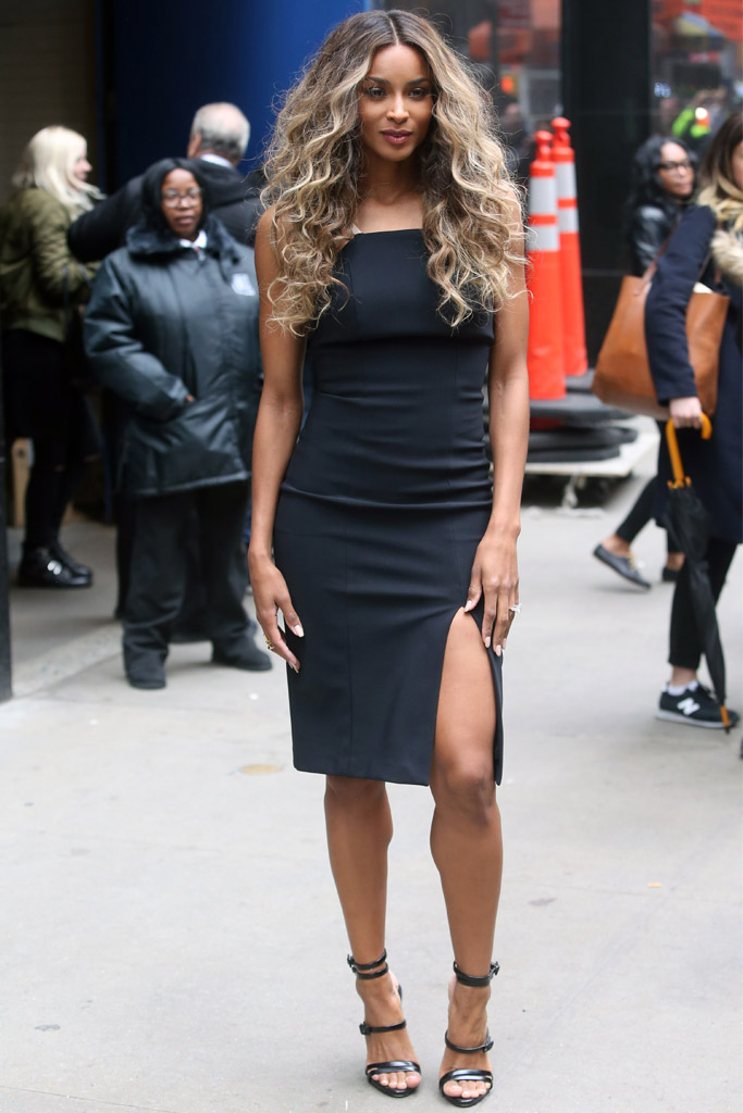 Ciara Celebrity Statement Shoes Spring 2016