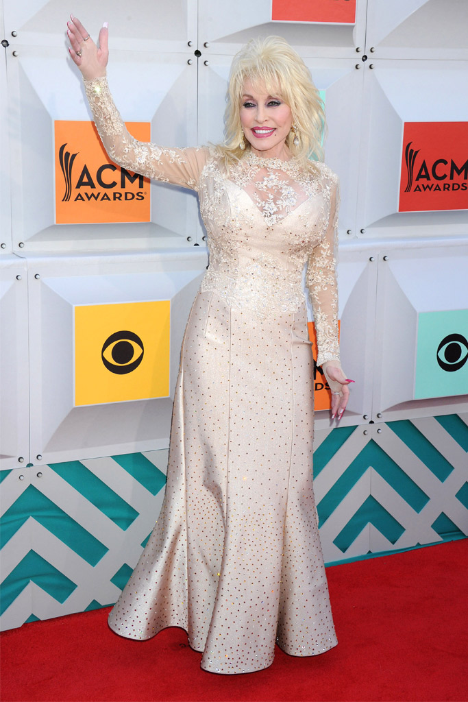 Dolly Parton Academy of Country Music Awards Red Carpet 2016