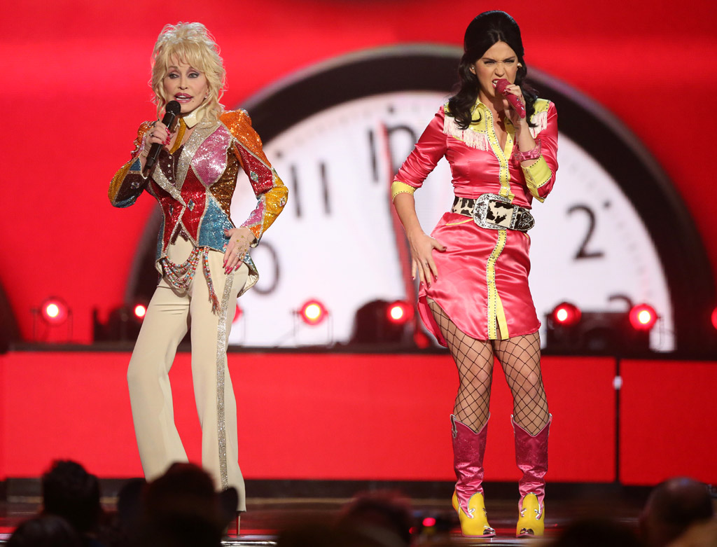 Dolly Parton, Katy Perry Academy of Country Music Awards 2016