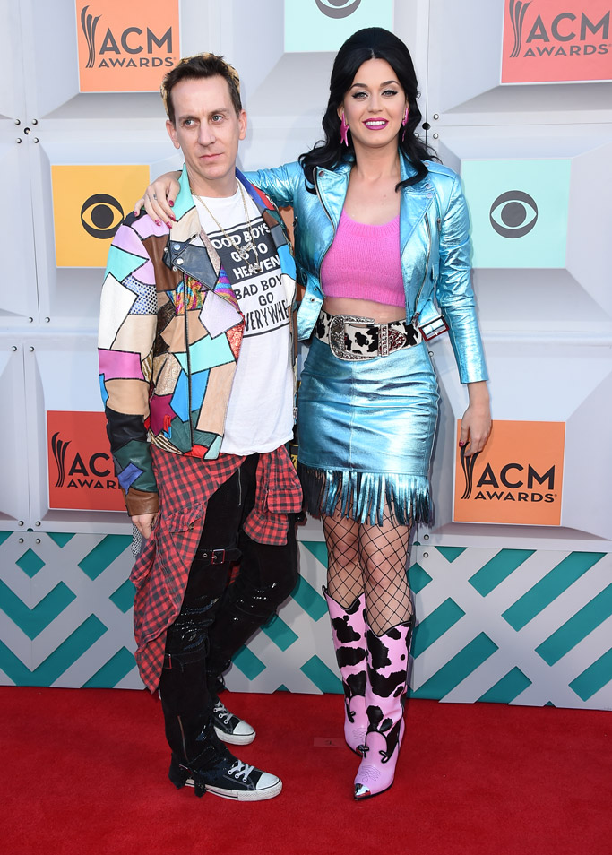 Jeremy Scott & Katy Perry Academy of Country Music Awards