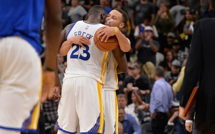 Draymond Green Stephen Curry Golden State Warriors