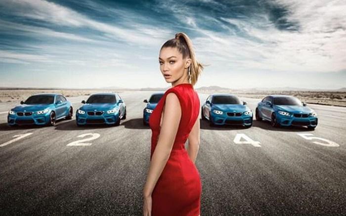 BMW Gigi Hadid Ad Stuart Weitzman