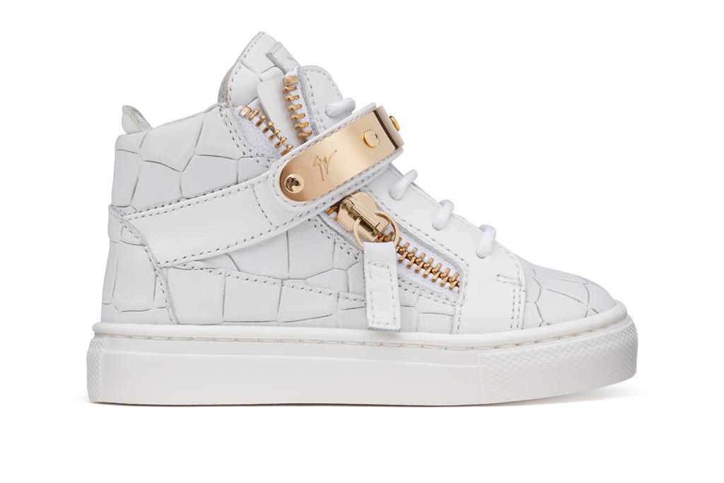 Giuseppe Zanotti Debuts Kids Shoe