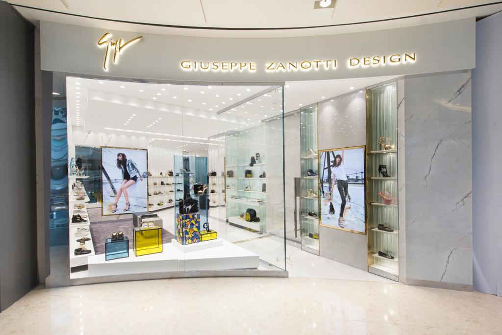 Giuseppe Zanotti Opens 100th Boutique