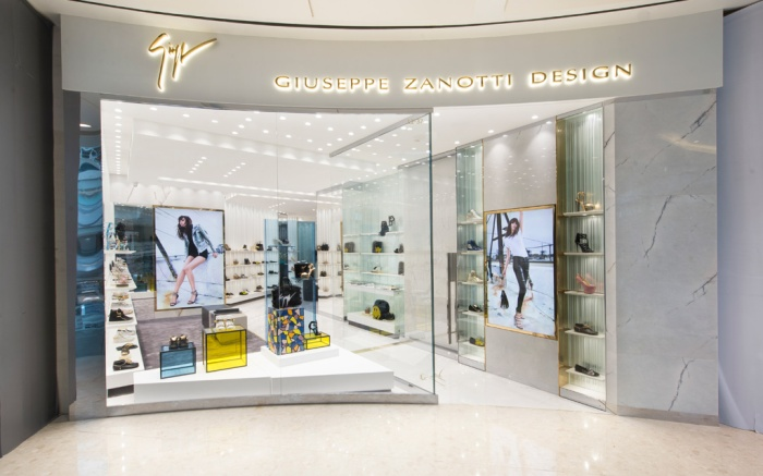 Giuseppe Zanotti Shanghai IFC Mall