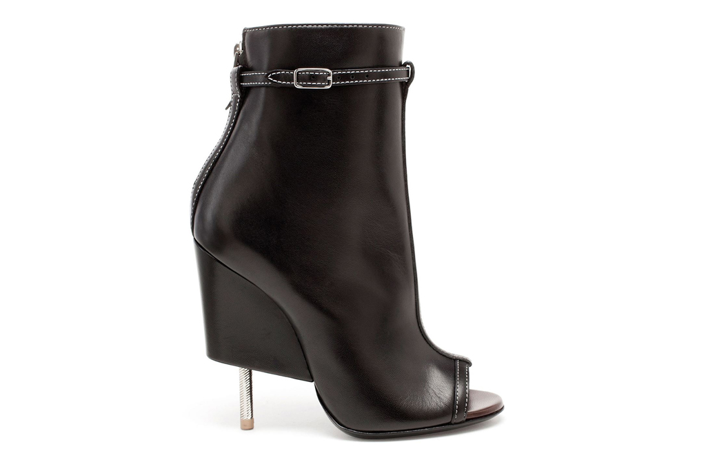 givenchy leather bootie