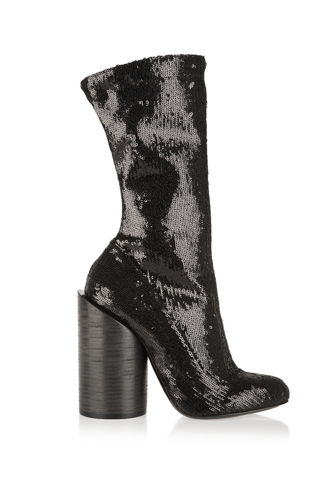 givenchy sequined boot
