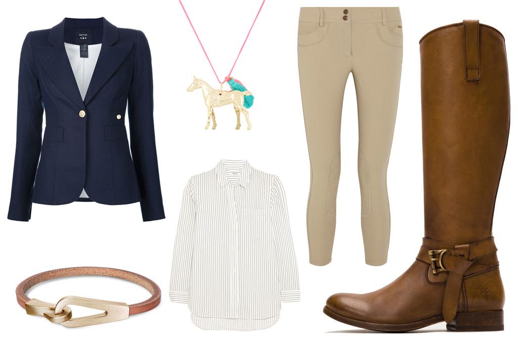 frye equestrian boot