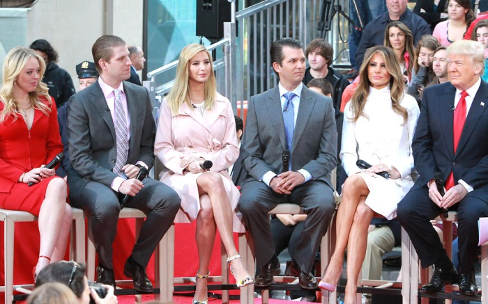 Trump Family Today Show