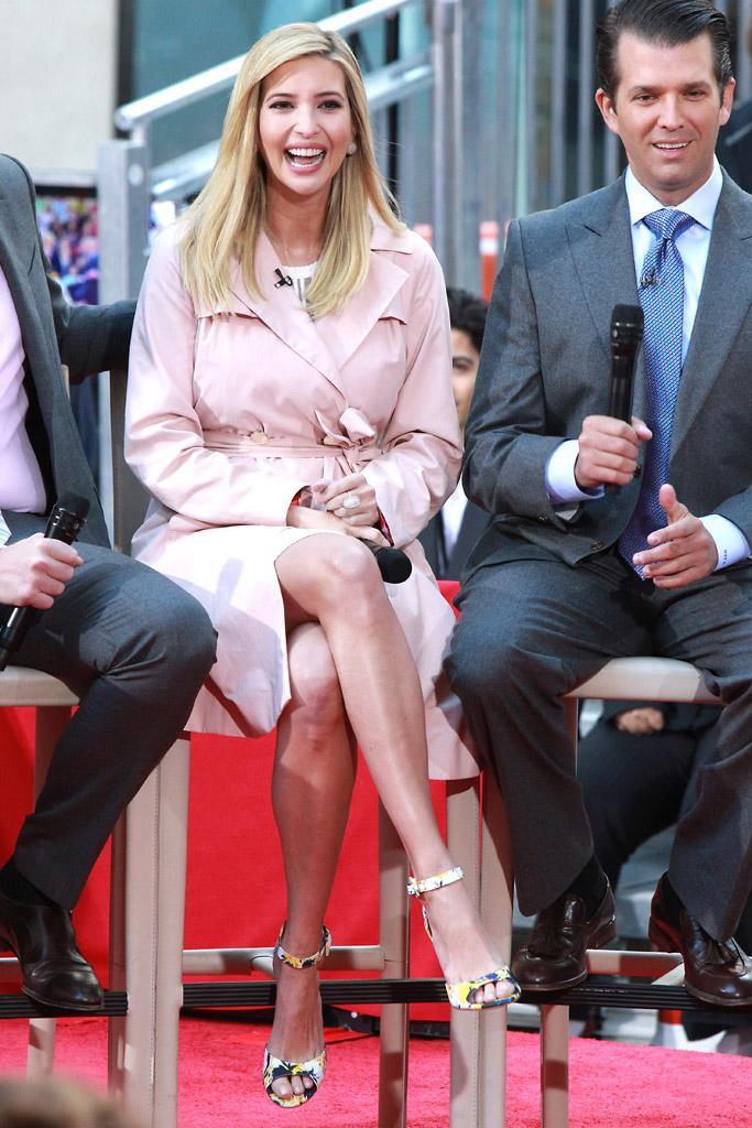 Ivanka Trump Today Show Shoes