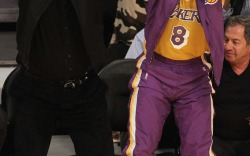 Celebrities Attend Kobe Bryant's Final Game
