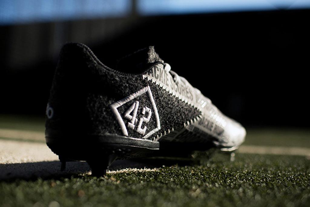 Jackie Robinson Adidas Adizero Afterburner 2 Cleats Energy Boost Icon 2