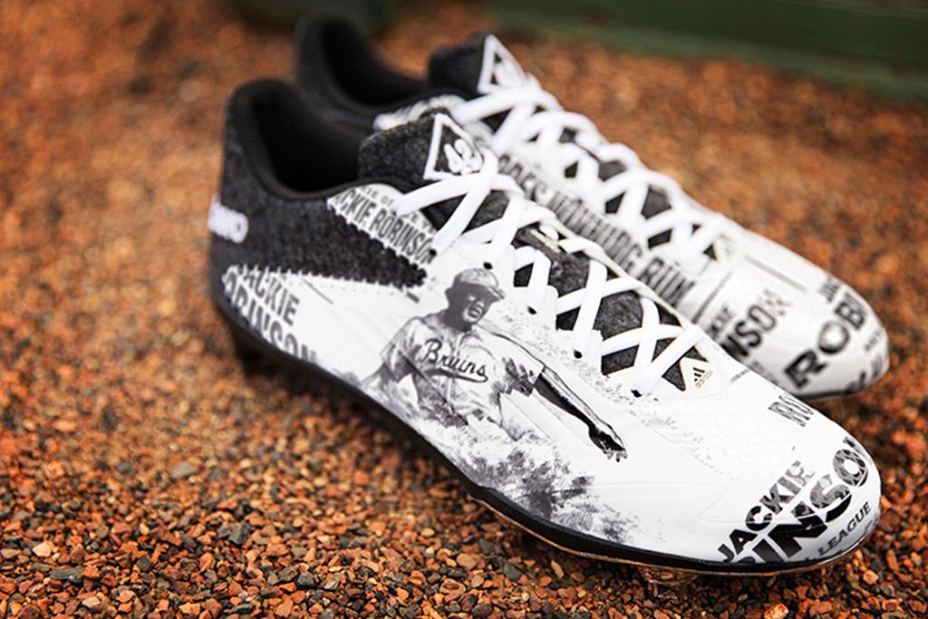 Jackie Robinson Adidas Adizero Afterburner 2 Cleats
