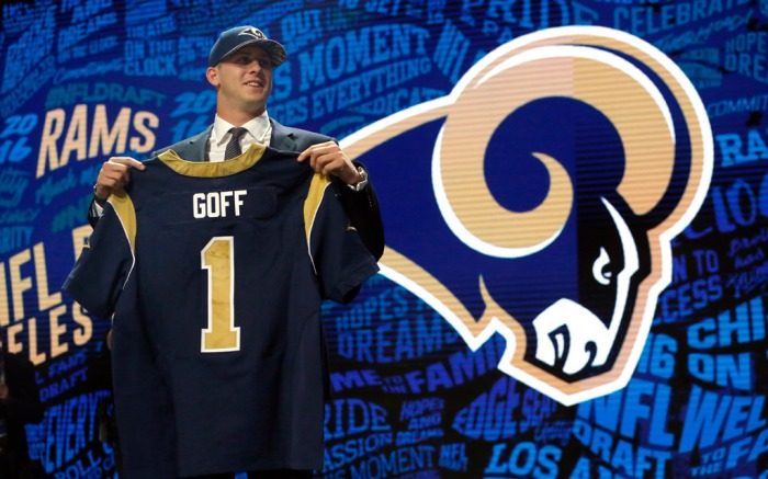 Jared Goff Nike 2016 NFL Draft