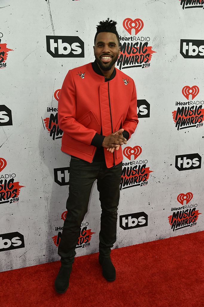 Jason Derulo iHeartRadio Awards 2016 Red Carpet