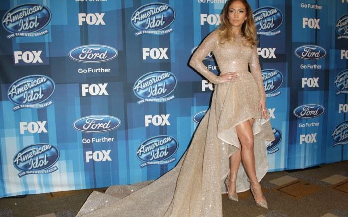 Jennifer Lopez American Idol Series Finale Shoes