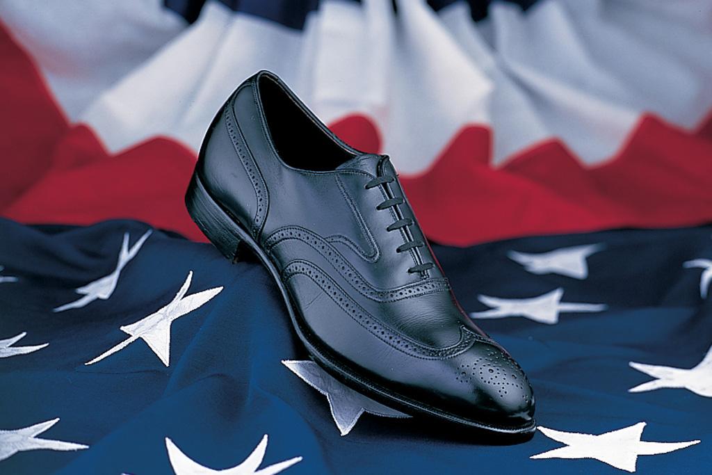 President Kennedy shoe by Johnston & Murphy
