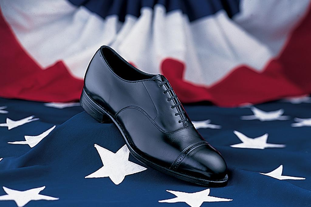 Ronald Reagan shoe by Johnston & Murphy