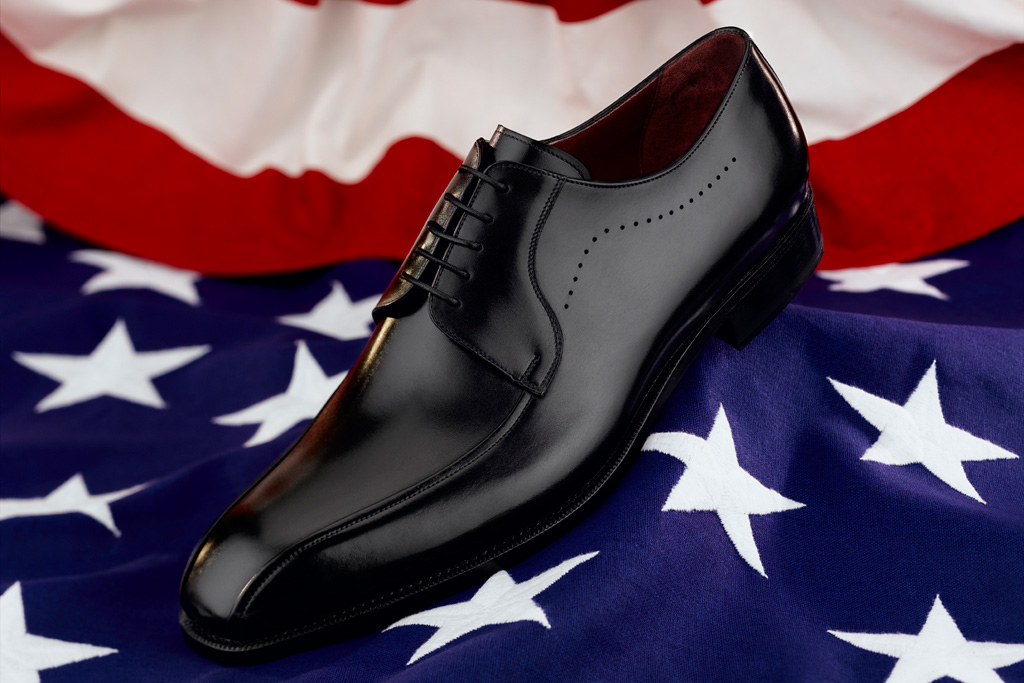 Barack Obama shoe by Johnston & Murphy