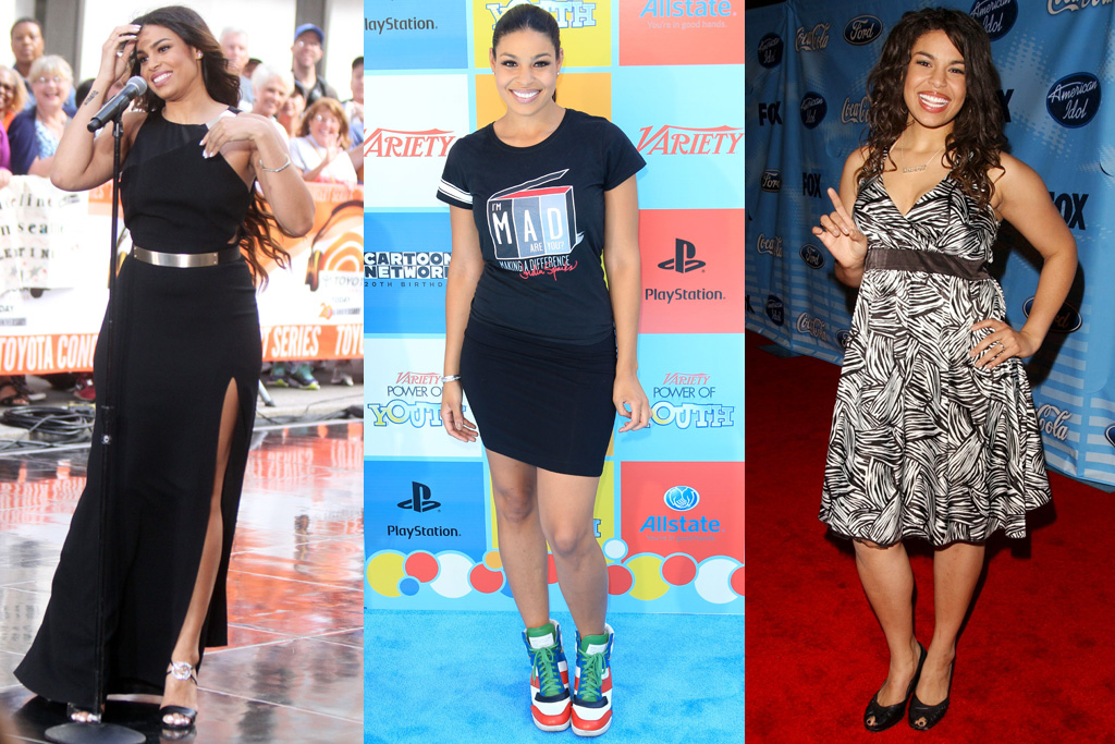 Jordin Sparks American Idol Style Then And Now