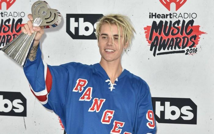 Justin Bieber iHeartRadio Music Awards Sneakers