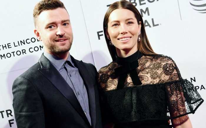Justin Timberlake Jessica Biel Tribeca Film Festival