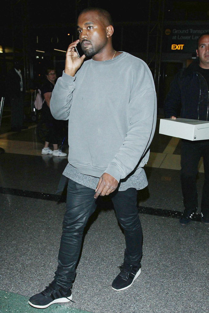 Kanye West's Adidas Sneaker Style