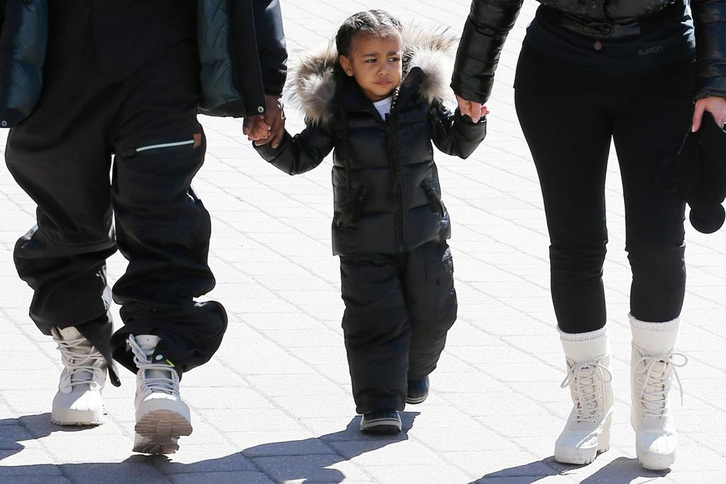 Kanye West Kim Kardashian Wear Matching Yeezy 950 Boots Footwear News