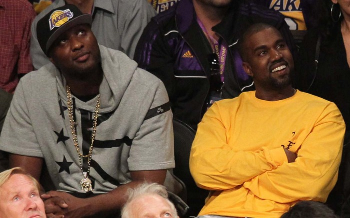 Kanye West Kobe Bryant Last Game