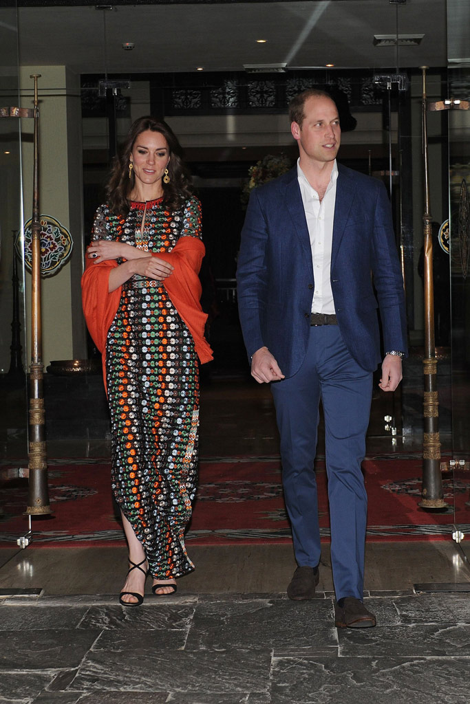 Kate Middleton Drew Barrymore Tory Burch Dress