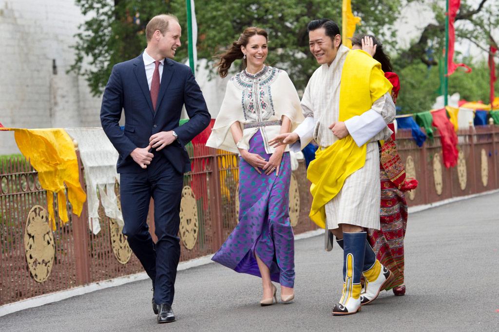 Kate Middleton India Bhutan