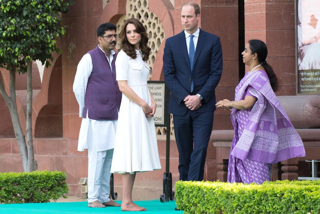 Kate Middleton Gandhi