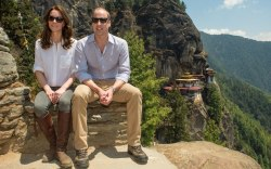 Kate Middleton Penelope Chilvers Boots Bhutan