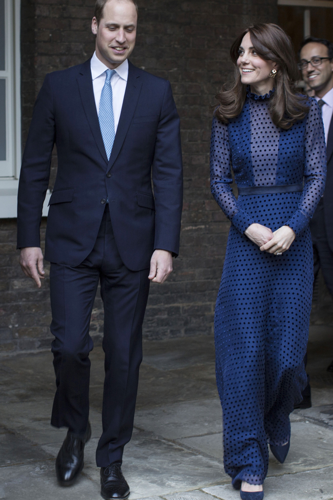 The young royals at Kensington Palace
