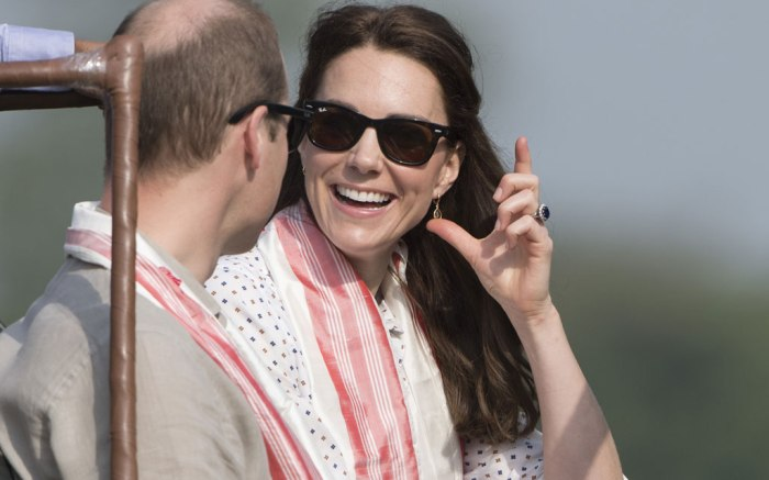 Kate Middleton Sebago Safari